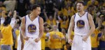 Klay Thompson et Stephen Curry