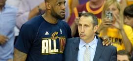 [Vidéo] David Blatt à LeBron James: tu le mérites