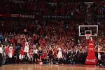 LeBron James buzzer beater bulls