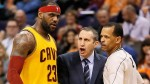 LeBron James et David Blatt