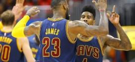 Chiffres du jour: Une première en près de 70 ans pour les Cavs;LeBron égale Jerry West