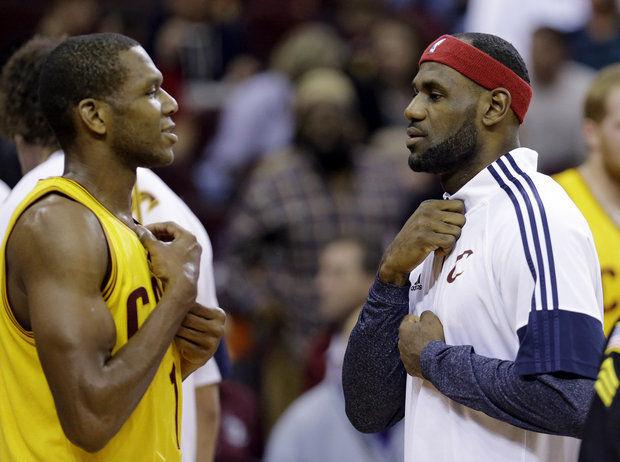 LeBron James et James Jones