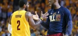 Les Cavaliers souhaitent réduire le temps de jeu de LeBron James et Kyrie Irving