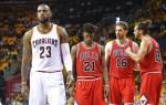 LeBron James et les Bulls
