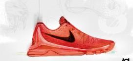 Nike dévoile un premier croquis de la KD 8