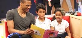 Russell Westbrook remporte leNBA Cares Community Assist Award