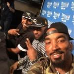 Selfie Jr Smith, LeBron James et Tistan Thompson