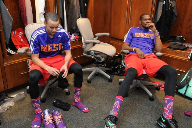 Stephen Curry et Kevin Durant