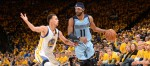 Stephen Curry et Mike Conley