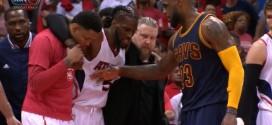 LeBron James: Je serais très surpris que DeMarre Carroll soit en mesure de jouer demain