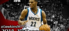 Compilation: les step-back jumpers d'Andrew Wiggins cette saison