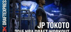Draft: le workout de JP Tokoto