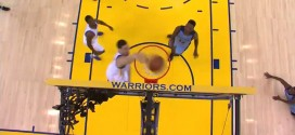 Fail: Klay Thompson rate son dunk