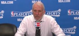 Gregg Popovich: je suis vraiment heureux pour les Clippers