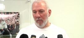 Gregg Popovich: l'année prochaine l'équipe sera probablement nettement différente