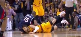[Vidéo] Al Horford exclu après un coup de coude sur Matthew Dellavedova