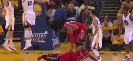 [Vidéo] Dwight Howard touché au genou