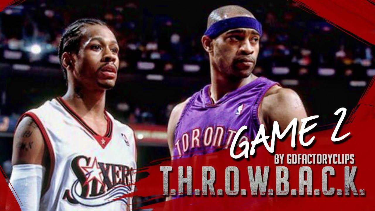 Il y a 14 ans Allen Iverson scorait 54 points face aux Raptors de Vince Carter