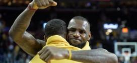 LeBron James : « Tristan Thompson est incroyable »