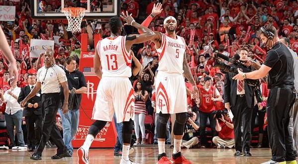 Top 5: carton plein pour les Rockets