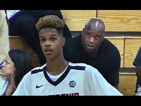 La mixtape deShareef O'Neal (15 ans, 2m03), fils de Shaq