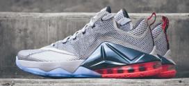 Kicks : les Nike LeBron 12 Low « Hot Lava »