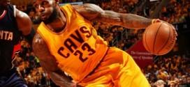 Les deux paniers clutchs de LeBron James en prolongation