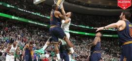 Le top 10 défensif du premier tour des playoffs: LeBron et Plumlee disent non !