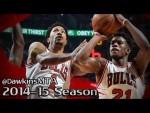 Les highlights de Derrick Rose (14 pts, 6 asts) et Jimmy Butler (20 pts)