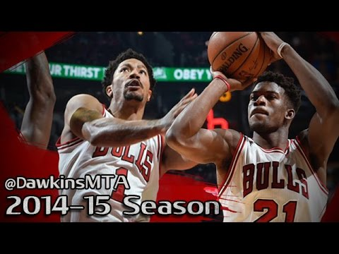 Les highlights de Derrick Rose (14 pts, 6 asts) et Jimmy Butler (20 pts)