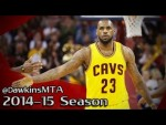 Les highlights de LeBron James: 38 points, 12 rebonds, 6 passes, 3 interceptions et 3 contres