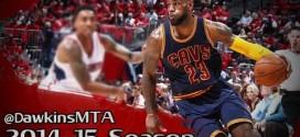 Les highlights de LeBron James: 31 points, 8 rebonds et 6 passes
