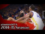 Les highlights défensifs des Warriors sur James Harden lors du game 5