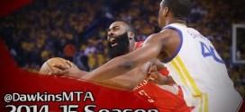 Les highlights défensifs des Warriors sur James Harden lors du game 5