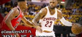Les highlights du duel Jimmy Butler (20 pts, 6 adts) – LeBron James (16 pts, 15 rbds, 9 asts)