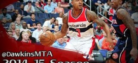 Les highlights du duo John Wall (20 points, 13 passes) – Bradley Beal (29 points)