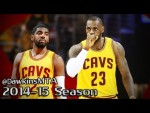 Les highlights du duo LeBron James (23 pts, 9 rbds, 7 asts) – Kyrie Irving (16 pts, 5 asts)