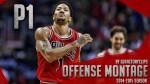 Les highlights offensifs de Derrick Rose en 2014/15