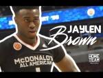 Mixtape:Jaylen Brown, Top 5 de la classe 2015 et futur joueur de California