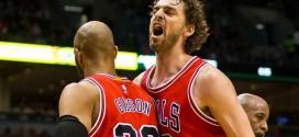 Bulls/Cavs : Pau Gasol prêt à charger