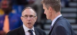 James Harden complimente le travail de Ron Adams, assistant coach des Warriors