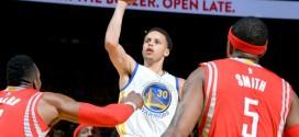 Top 5: un show Stephen Curry – James Harden