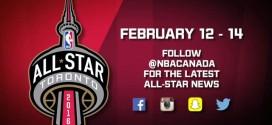 Le logo du All-Star Game 2016 de Toronto ?