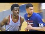 Vidéo: Austin Rivers dispute un match face à Antonio Blakeney & Corey Sanders