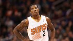 PHOENIX, AZ - DECEMBER 21:  Eric Bledsoe #2 of the Phoenix Suns during the NBA game against the Dallas Mavericks at US Airways Center on December 21, 2013 in Phoenix, Arizona. The Suns defeated the Mavericks 123-108.  NOTE TO USER: User expressly acknowledges and agrees that, by downloading and or using this photograph, User is consenting to the terms and conditions of the Getty Images License Agreement.  (Photo by Christian Petersen/Getty Images) *** Local Caption *** Eric Bledsoe