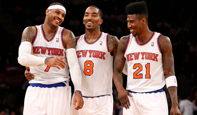 Iman Shumpert Carmelo Anthony et jr smith