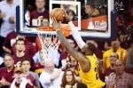 LeBron James Cavaliers dunk