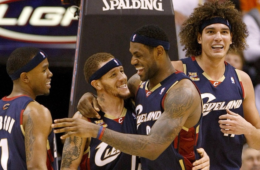 LeBron James et Delonte West