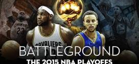 Le superbe mix du jour: Battleground –The 2015 NBA Playoffs