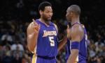 Robert Horry et Kobe Bryant